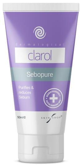 Clarol Sebopure for rebalancing facial serum