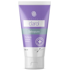 Clarol Sebopure for rebalancing facial serum