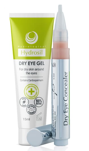 Dry eye gel and dry eye concealer duo pack